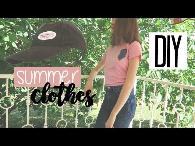 DIY • summer clothes