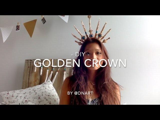 ◇ DNART ◇ #DIY. A Golden Crown