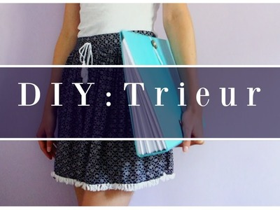BACK TO SCHOOL. DIY Trieur