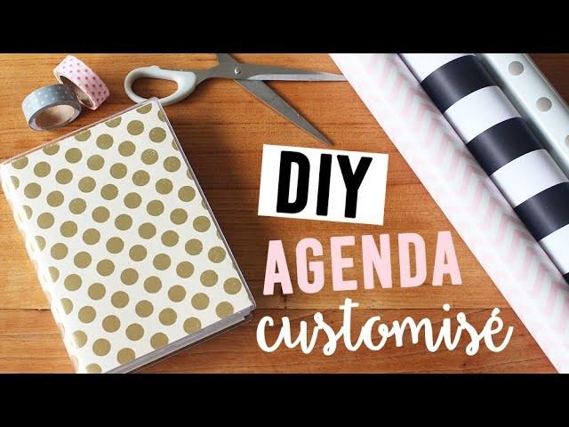 DIY - Customiser son agenda   camillegrandxo