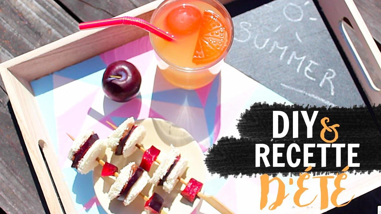 - DIY & RECETTE D'ÉTÉ - Un bon goûter estival