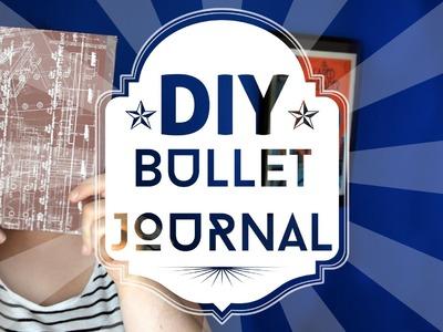 Tuto papeterie DIY : Fabriquer son Bullet Journal facilement