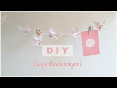 D I Y: La guirlande origami