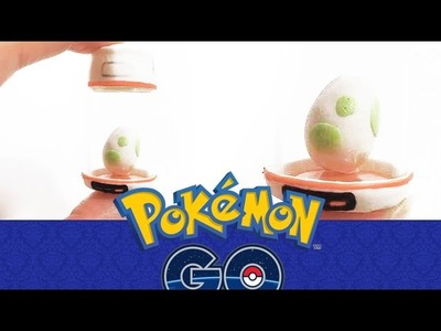 POKEMON GO: Tutoriel FIMO Incubateur Pokemon - Polymer clay tutorial Inspired