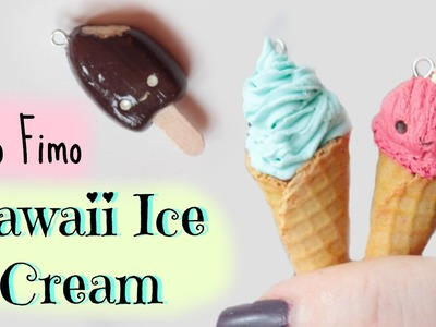 • [TUTO FIMO] Glaces Kawaii ⎜ Kawaii Ice Cream polymer clay tutorial •