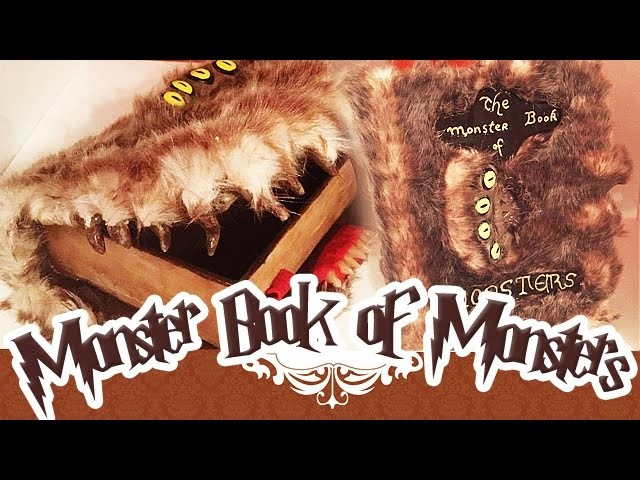 Tuto Fimo Harry Potter The Monster Book Of Monsters