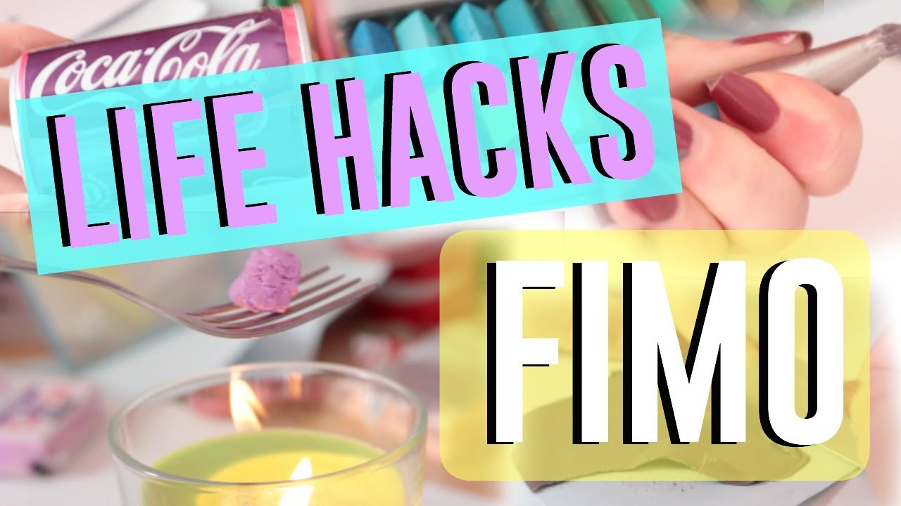 • 7 Astuces Fimo⎢7 Polymer Clay Life Hacks  •