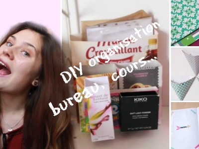 ♥ Back to school 2 ♥ DIY pour bureau, s'organiser !