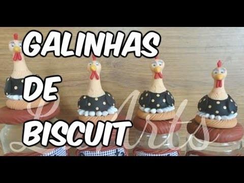 DIY GALINHAS DE BISCUIT PARTE 1