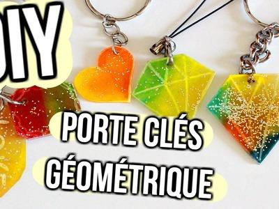 DIY Porte clés Géométrique. Plastique Fou