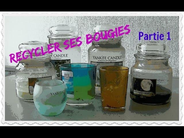 DIY : Recycler ses pots de bougies Yankee Candle, Maison du Monde .  Partie 1