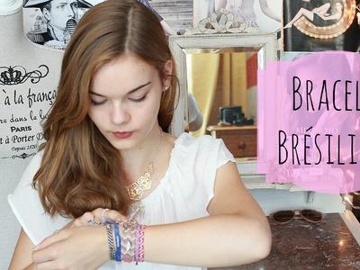 Faisons un bracelet brésilien !  [ ► DIY ]
