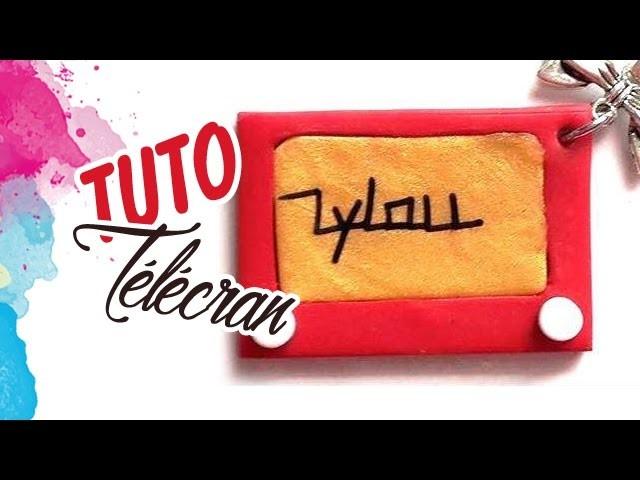 TUTO FIMO: TÉLÉCRAN   PolymerClay Tutorial telescreen