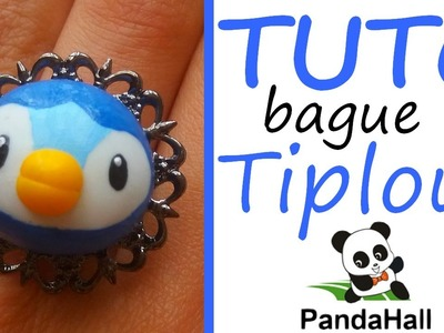 Tutoriel Fimo - Bague Pokémon Tiplouf avec PandaHall.fr. Polymer Clay Tutorial - Pilplup