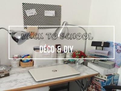 Back to School: Déco & DIY