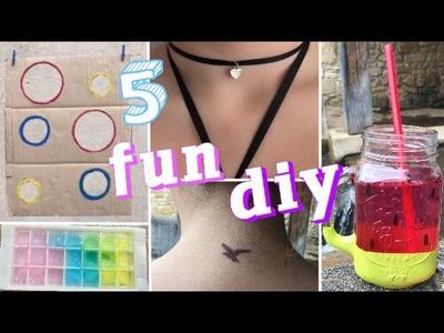 DIY | 5 fun diy à tester pour l'été