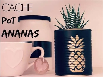 DIY : Cache pot ananas [tuto vidéo]