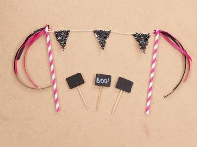 DIY Halloween - Chica Vampiro Accessoire gâteau