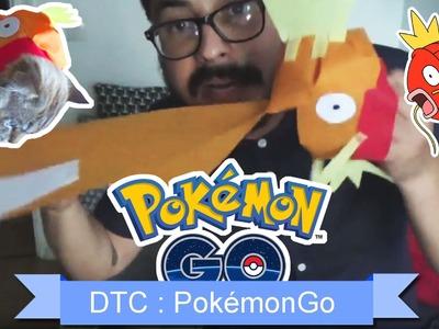 [DTC 10] DIY Déguise ton chat en Magicarpe (Pokemon Go) - Décore Ton Chat