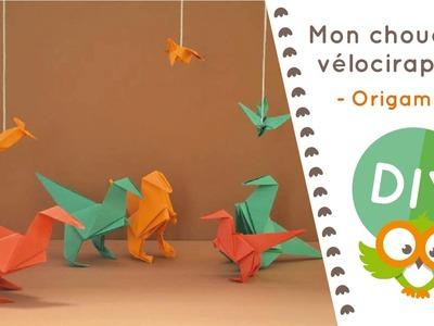 Chouette DIY #4 - Fabrique un chouette Vélociraptor en origami !