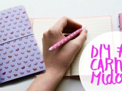 DIY #1 Carnet Midori