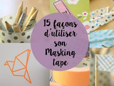 DIY : 15 façons d'utiliser son masking tape