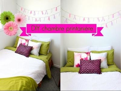 --DIY Chambre printanière--