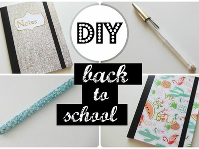 DIY : Back to school. notebooks (français)