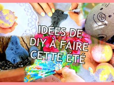 DIY ÉTÉ 2016 | Faciles, Rapides et Tumblr [Summer DIY Français]- Claire