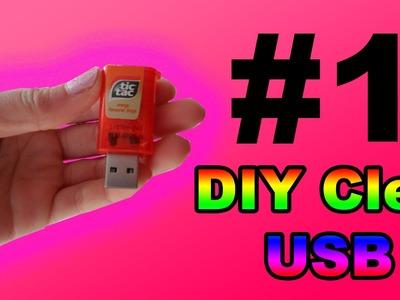 [ DIY INFORMATIQUE n°1 ]  : clé USB