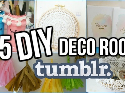 5 DIY Deco Chambre Tumblr I DIY Français
