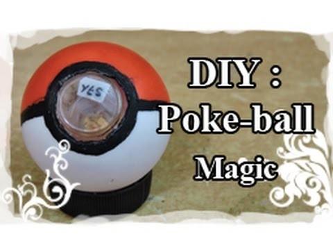 DIY : Tuto. Tutoriel N°6 : Poké-ball Magic