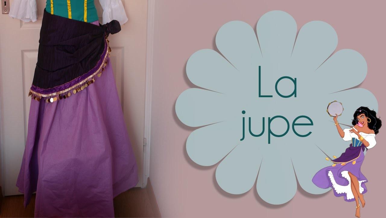 DIY Jupe longue. long skirt - Esmeralda