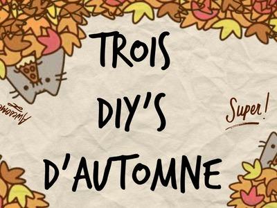 3 DIY D'Automne