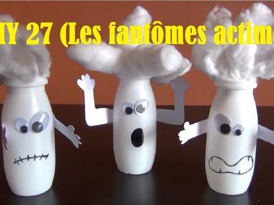DIY - Bricolage à faire à la maison #27 (le fantôme actimel)