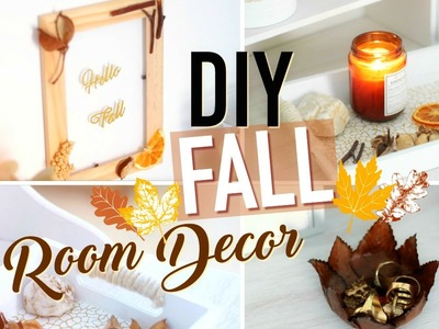DIY d'Automne (français) : Fall Room Decor 2016