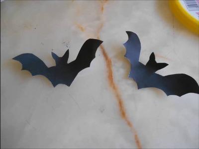 DIY : Lanterne Halloween Chauves-Souris
