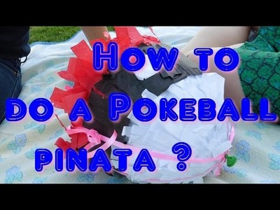 ❥ DIY POKEBALL PINATA | Sue VanityCat