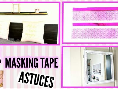 DIY: Que faire avec du making tape ? Déco dressing | Miroir |  Pochette .