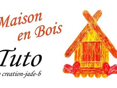 DIY Décoration - Petite Maison en Bois !