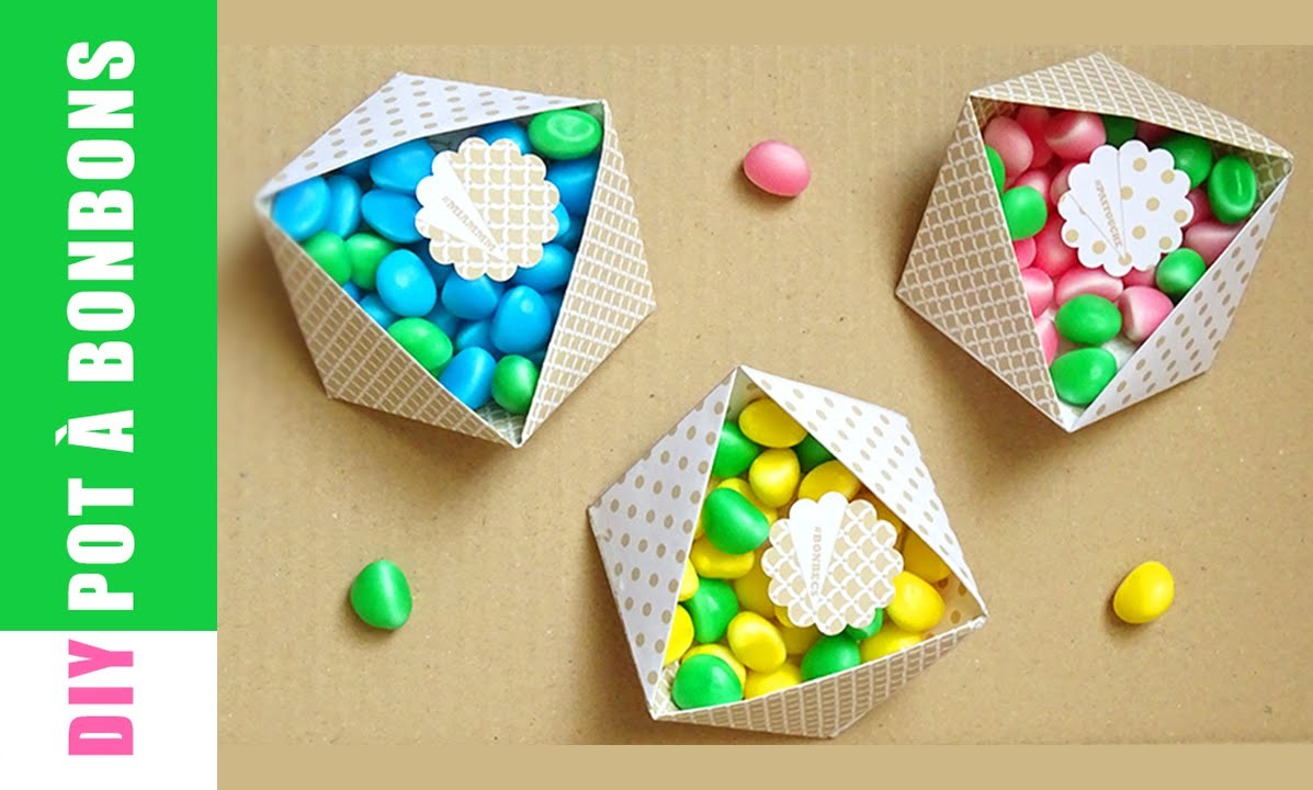 Diy Pot à Bonbons