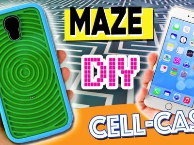 Etui de portable en LABYRINTHE* DIY étincelant étui de téléphone avec un labyrinthe