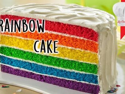 Recette du Rainbow cake !