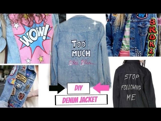 DIY Denim Jacket | Veste en jean