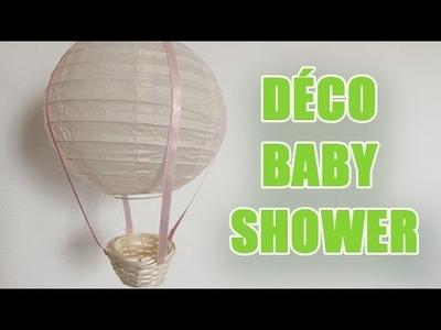 DIY Idée déco pour la chambre de votre bébé : Attrape rêve et une montgolfiere