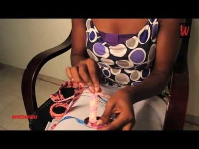 Les #DIY de Shamata: Accessoire de mode avec du pagne africain