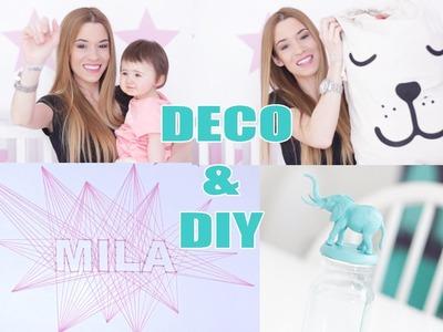 ❥ 22 - [ DIY ] : DECO PAS CHERE POUR CHAMBRE DE BEBE. ENFANT
