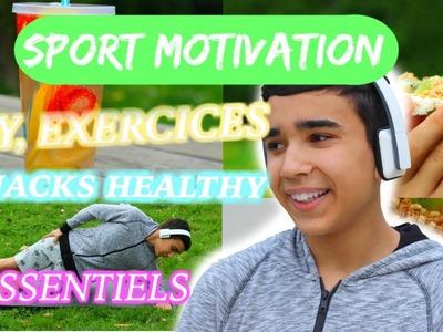 Sport Motivation ! Diy, Exercices, Snack Et Essentiel l JustJonathan