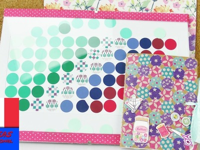 Bricoler un Poster | DIY Poster pour la chambre | avec des cercles de toutes les couleurs