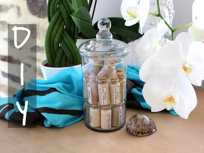 DIY # 2 Souvenirs de vacances ☼ Sand Collection (with english sub)